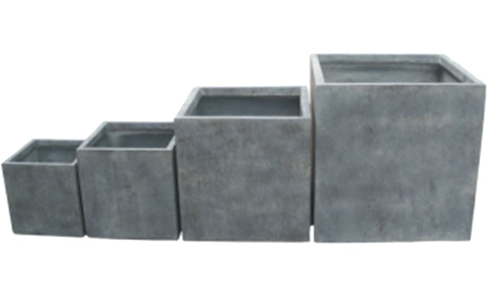 Product: Cube Planters In Stock 25 X 25 X 25cm High $16 30 X 30 X 30cm High  $26 40 X 40 X 40cm High $49.90 50 X 50 X 50cm High $68. Item: GAP 115